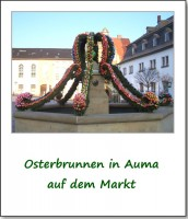 osterbrunnen in auma