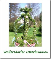 osterbrunnen in wolfersdorf