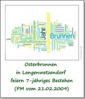 2009-presse-osterbrunnen-langenwetzendorf-feiern-7-jaehriges-bestehen