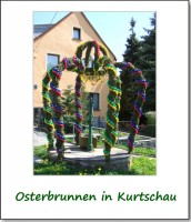 osterbrunnen in kurtschau