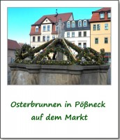 osterbrunnen in poessneck
