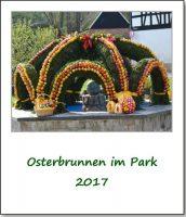 Osterbrunnen im Park