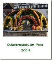 Osterbrunnen im Park 2918